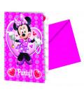 Biglietti Inviti Compleanno Minnie Party Disney