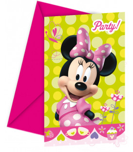 Biglietti Inviti Compleanno Minnie Boutique Party Disney