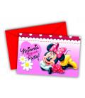 Biglietti Inviti Compleanno Minnie e Daisies Disney