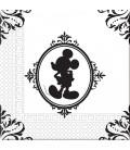 Tovaglioli 33 x 33 cm 3 Veli Mickey Mouse Barocco Disney 3 Pz