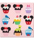 Tovaglioli 33 x 33 cm 3 Veli Daisy D-Lish Treats Disney 3 Pz