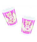 Bicchieri di Plastica 180 - 200 cc Minnie Vintage Disney