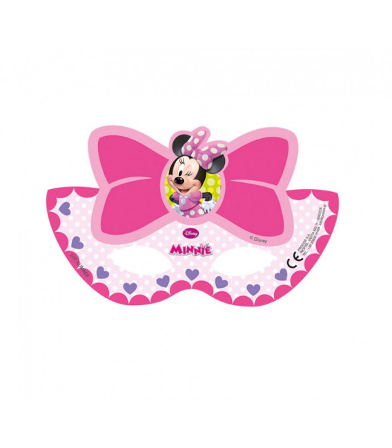Maschera Compleanno Minnie Boutique Party Disney