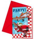 Biglietti Inviti Compleanno Planes Disney