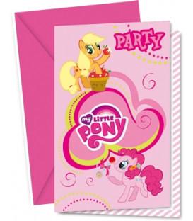 Biglietti Inviti Compleanno My Little Pony