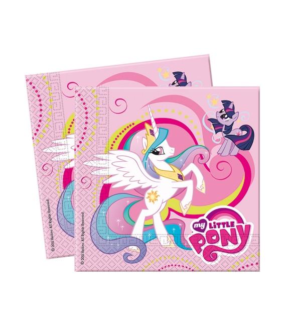Tovagliolo 33 x 33 cm 2 Veli My Little Pony
