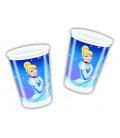 Bicchieri di Plastica 180 - 200 cc Cenerentola Disney