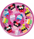 Piatto Piano Grande di Carta 23 cm Daisy D-Lish Treats Disney