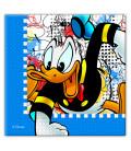Tovagliolo 33 x 33 cm 2 Veli Donald Duck Disney