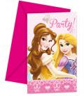 Biglietti Inviti Compleanno Princess Glamour Disney