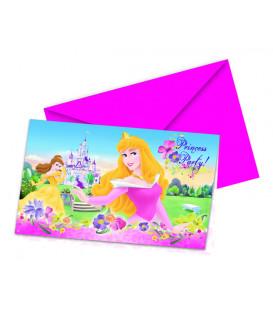 Biglietti Inviti Compleanno Princess Journey Disney
