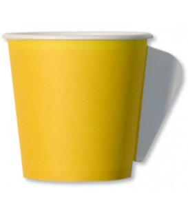 Tazzine da Caffè di Carta Gialla