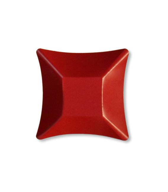Coppetta Quadrata Piccola di Carta Rossa