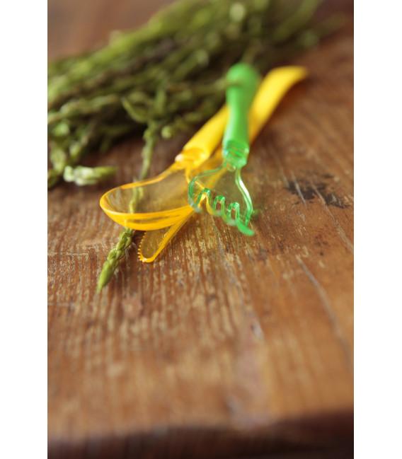 Forchette Linea Clear Head Giallo