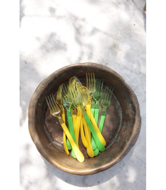 Cucchiai Linea Clear Head Verde