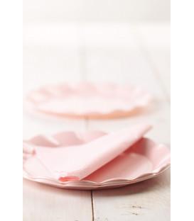 Tovaglioli Rosa 3 veli 33x33 cm 3 confezioni
