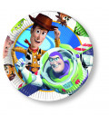 Piatto Piano Grande di Carta 23 cm Toy Story Disney