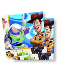 Tovaglioli 33 x 33 cm Toy Story Disney 3 Pz