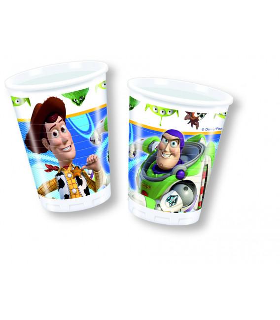 Bicchieri di Plastica 180 - 200 cc Toy Story Disney