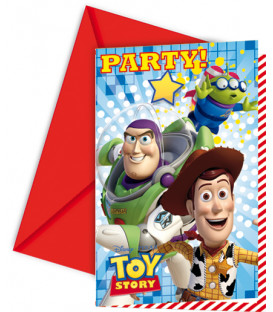 Biglietti Inviti Compleanno Toy Story Disney