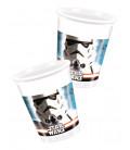 Bicchieri di Plastica 180 - 200 cc Star Wars Disney