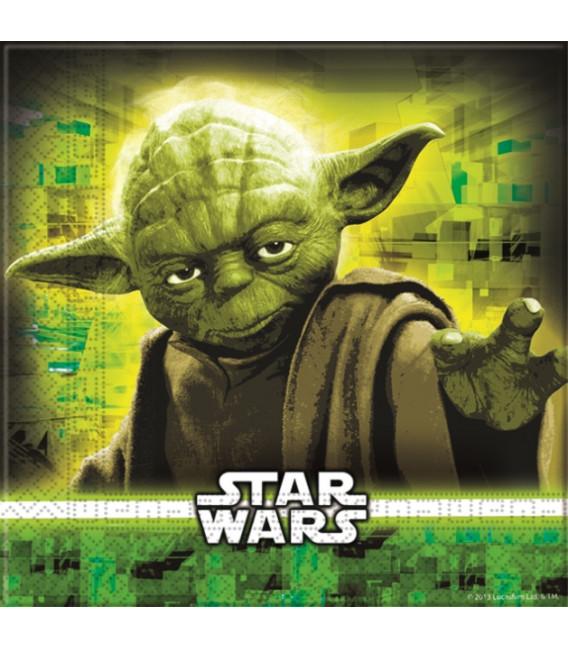 Tovaglioli 33 x 33 cm Star Wars Disney