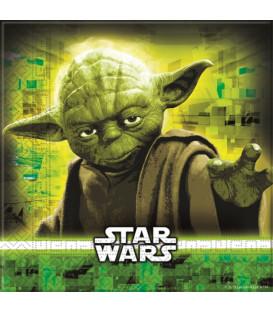 Tovaglioli 33 x 33 cm Star Wars Disney 3 Pz