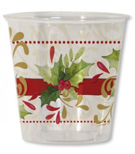 Bicchieri di Plastica Tradition Agrifoglio 300 cc