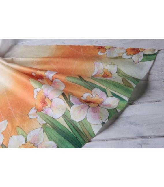 Tovaglia Rettangolare Floreale Narcisi 140 x 240 cm