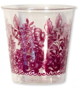 Bicchieri di Plastica 300 cc Victoria bordeaux 3 confezioni