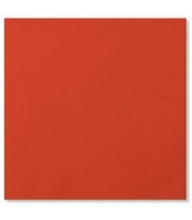 Tovaglioli 3 Veli Rosso Corallo 3 confezioni