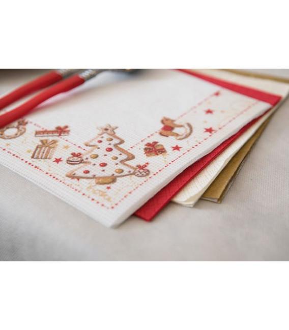 Piatti Piani di Carta a Petalo Gingerbread 27 cm