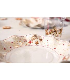 Bicchieri di Plastica Gingerbread 300 cc 3 confezioni