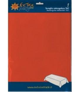 Tovaglia in TNT Rettangolare Rosso Corallo 140 x 240 cm