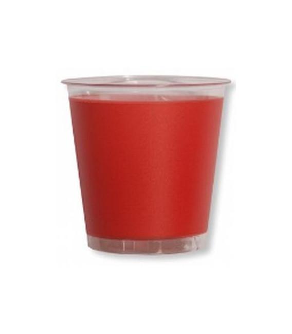 Bicchieri di Plastica Rosso Corallo 300 cc