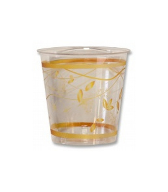 Bicchieri di Plastica Golden Christmas 300 cc
