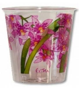 Bicchieri di Plastica Orchidea 300 cc