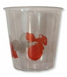 Bicchieri di Plastica Natale Vintage 300 cc