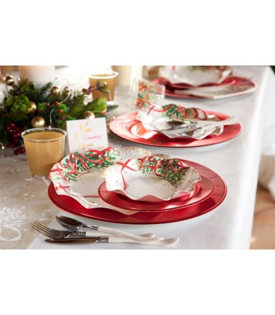 Tovaglioli 3 Veli Christmas Bouquet 3 confezioni