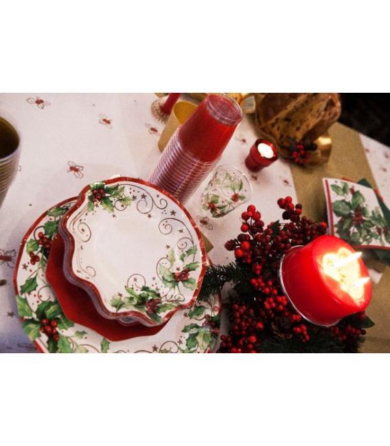 Bicchieri di Plastica Christmas Style 300 cc