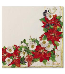 Tovaglioli Lucky Christmas 33 x 33 cm