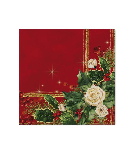 Tovaglioli 3 Veli Elegance Christmas
