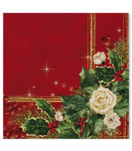 Tovaglioli 3 Veli Elegance Christmas 3 confezioni
