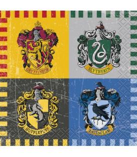 Tovaglioli 13 x 13 cm Harry Potter Warner Bros