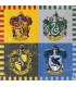 Tovaglioli 13 x 13 cm Harry Potter Warner Bros