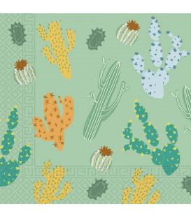 Tovaglioli Cacti 33 x 33 cm 3 confezioni