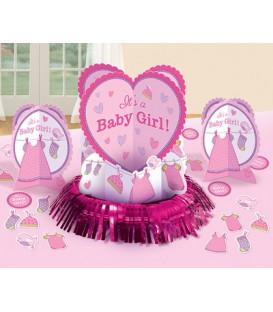 Set Decorazioni tavola Baby Girl