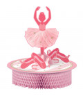 Centrotavola nido d'ape Ballerina - Twinkle Toes 1 pz