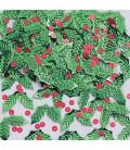 Confetti da tavola Holly e Bierries Natalizi