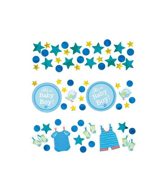 Confetti da tavola Vestitini - Shower with Love Boy